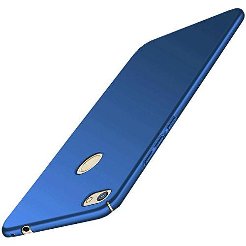 Carcasa Huawei P8 Lite (2017 series) ,Qissy® Todo incluido Anti-Scratch Anti-huella dactilar a prueba de choque Suave Protective Case Cover Skin para Huawei P8 Lite 2017 series (azul real)