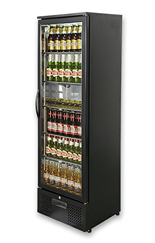 capital-platinum-300-single-door-upright-bar-chiller-black