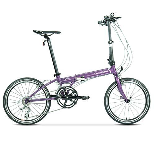 Folding Bikes Bicycle road folding bicycle unisex 20 inch wheel ultra light travel portable bicycle