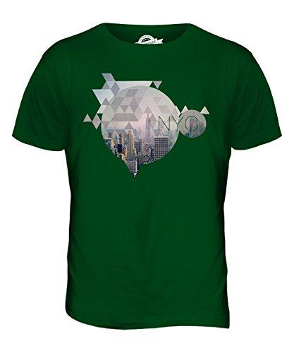 CandyMix New York City Herren T Shirt Flaschengrün