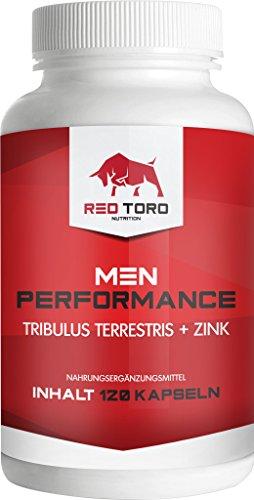 Red Toro | Fruchtbarkeit + Sperma + Liebe + Lust + Potenzmittel + Aphrodisiakum | 120 Kapseln