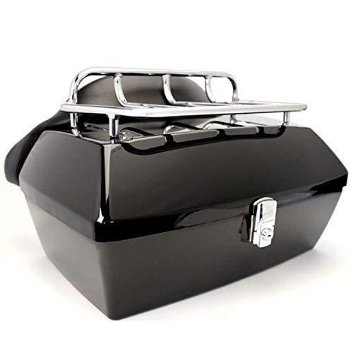 Baul custom Coffin Vramack Seven 43L respaldo parrilla
