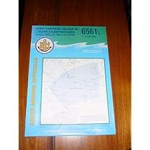 Carte marine : De Lisbonne à Freetowm