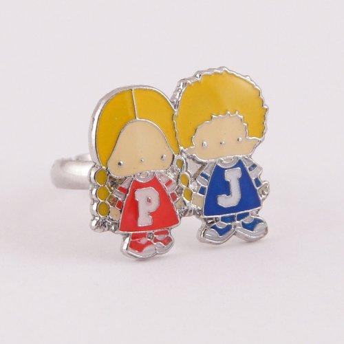 Sanrio Patty & Jimmy adjustable Ring