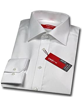 Eterna Hemd | Modern Fit | Kent-Kragen | Größe 40 | Weiß Unifarben | Langarm 65cm