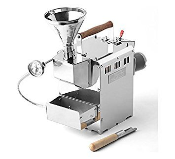 KALDI home coffee roaster hand operated type Full Package Including Hopper, Probe Rod, Chaff Holder (Gas Burner Required) by KALDI