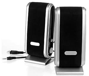 PARA Portable USB Multimedia PC Speakers for use with Desktops / Laptops / Netbooks / Macbooks / iMac
