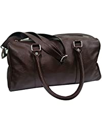 Essart PU Leather Crafted, Stylish, Luxury Look And Light Weight Gym Bag / Carry Bag / Duffel Bag / Unisex / 15...