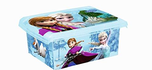 SET DE DOS MODA Caja Disney Frozen 20l+ 10l Caja de almacenamiento caja de juguetes