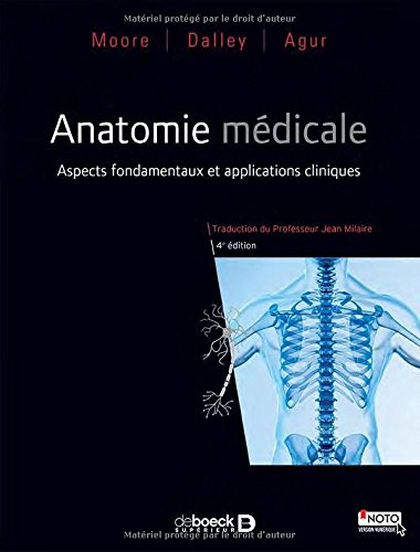 Anatomie médicale : Aspects fondamentaux et applications cliniques