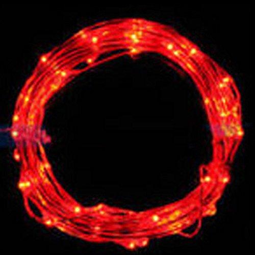 HROIJSL 5M String Weihnachtsbeleuchtung Party Hochzeitsbeleuchtung Fairy Light 50 LED Batteriebetriebene Weihnachtslichter Party Hochzeitslampe