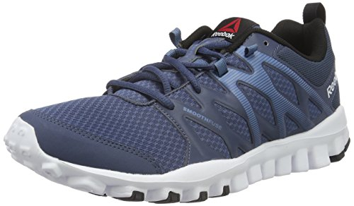 Reebok Realflex Train 4.0, Scarpe da Fitness Uomo Blu (royal Slate/slate/white/black)