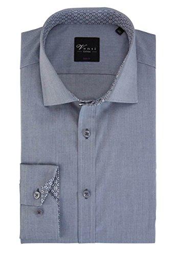 Venti Herren Businesshemd Silber (silber 700)