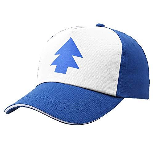 DAMENGXIANG Blauer Kiefer Hut Karikatur Fernlastfahrer Hysteresen Erwachsene Mann Vati Hut Baseballmütze