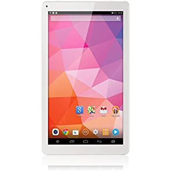 Excelvan M1009 Tablette Tactile PC Ecran 10.1 Pouces Android 4.4 Octa-Core 1.8GHz 1GB+16GB External 3G WIFI Bluetooth HDMI Google Play Pre-installed Dual Camera - Blanc
