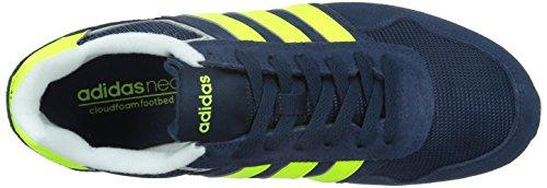 Adidas neo - 10k, Scarpe da ginnastica Uomo Blu/giallo/grigio (Maruni/Amasol/Onicla)