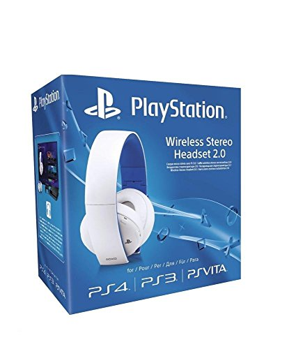 SONY - AURICULARES INALAMBRICOS STEREO  COLOR BLANCO (PS4  PS3  PS VITA)