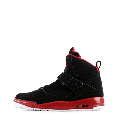 nike-air-jordan-flight-45-high-ip-bg-hi-top-trainers-845095-sneakers-shoes-uk-6-eu-39-black-gym-red-