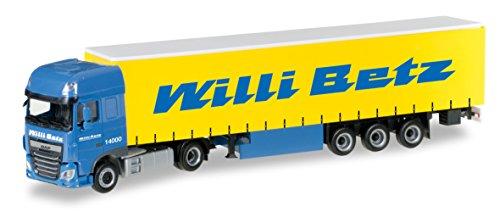 "Herpa 306560 - DAF XF SSC Euro 6 Gardinenplanen-Sattelzug ""Willi Betz"""
