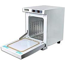 5L calentador de toallas UV esterilizador desinfección caliente gabinete con 2 interruptores salon spa cuidado de