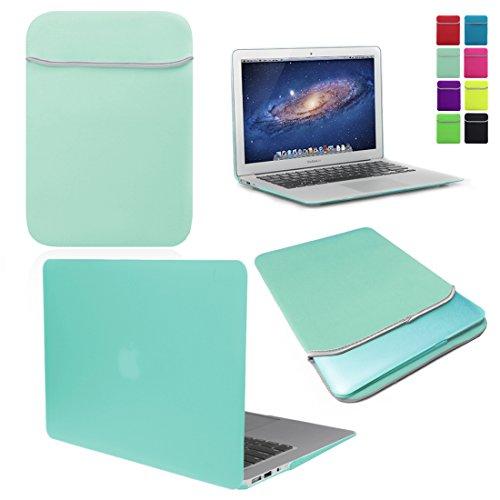 Love My Case MACB-BUND-NEO-HC-AIR11-EGG Schutzhülle, 11-inch MacBook Air, Blau - Egg Blue / Ocean Green Ocean Green