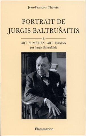Portrait de Jurgis Baltrusaitis