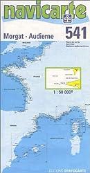 Carte marine : Morgat - Audierne