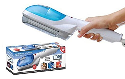 Stvin Portable Handheld Travel Iron Garment Steamer Brush Fabric Clothes Hold Electric Iron Steam...