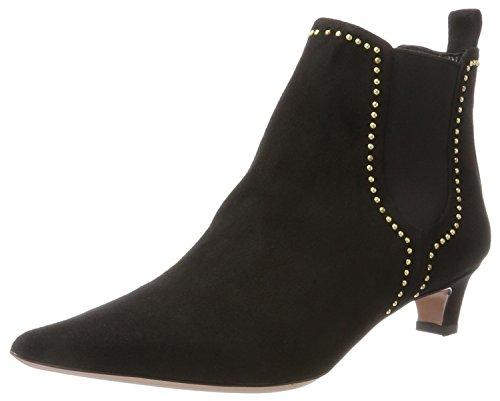 Oxitaly Damen Sandra 336 Chelsea Boots, Schwarz (Nero), 38 EU