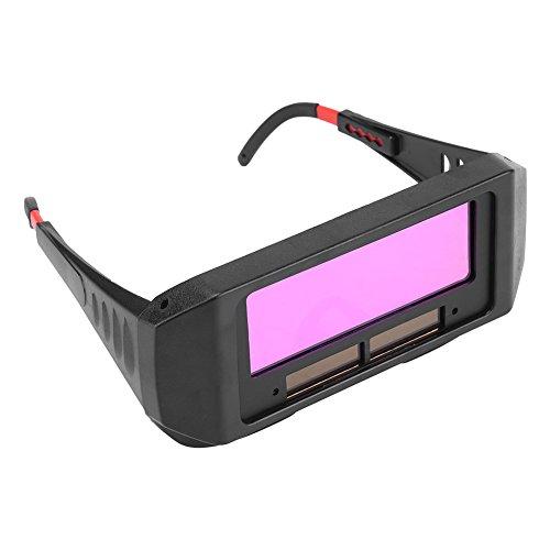 Occhiali da sole oscuranti per auto oscuranti di colore nero Occhiali protettivi per saldatori di sicurezza occhiali per saldatore Occhiale per proteggere gli occhi dalle scintille