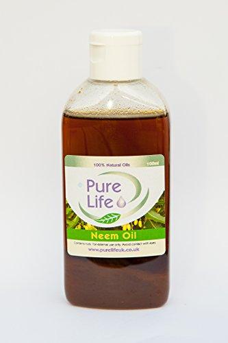 Neemöl, Pure und Natural UNREFINED kalt gepresst Träger Öl erhältlich in 100ml und 250ml (Alle Pur-krug)