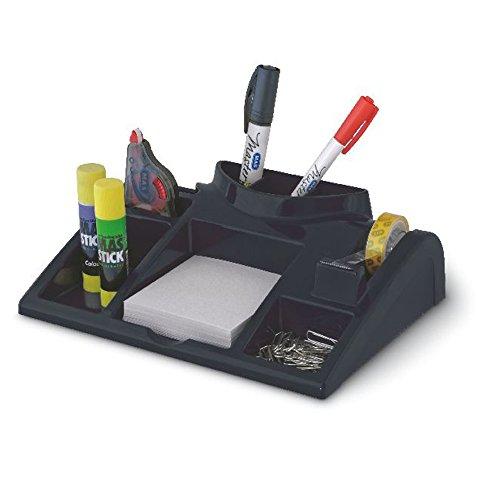 Schreibtisch-Organizer Ablagesystem Schwarz