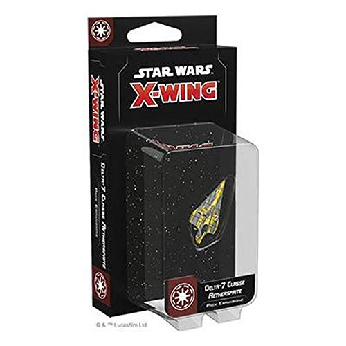 Asmodee Italia- Star Wars X-Wing Delta-7 Classe Aethersprite, Colore, 9959