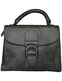 Hand Bag With Sling Bag/Gray Colours Bag
