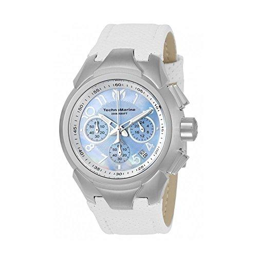 technomarine-sea-femme-42mm-bracelet-cuir-blanc-quartz-montre-715031