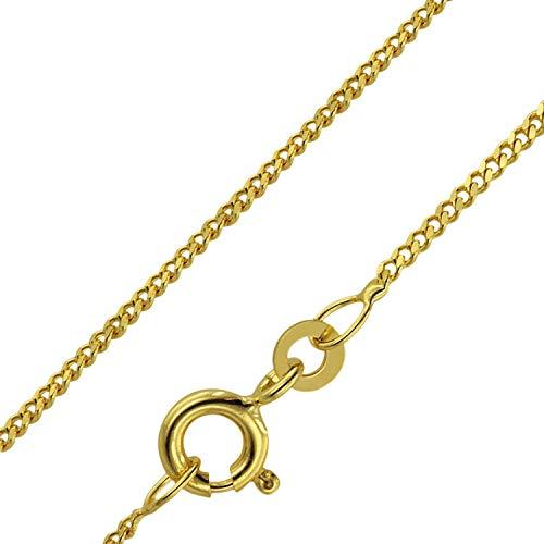 trendor Halskette für Kinder 333 Gold Länge 38/36 cm Breite 1,4 mm 71958 (Baby-jungen-anhänger-halskette)