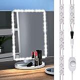 GEEKHOM Luce per Specchio Luminoso LED Trucco da Tavolo Toeletta, Cosmetico, Bagno, con Cotroller Remoto