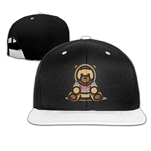 20c4fe717b44c VTXWL Personality Caps Hats Hip Hop Baseball Cap Ozuna Bear Logo  Personality Fashion Custom White