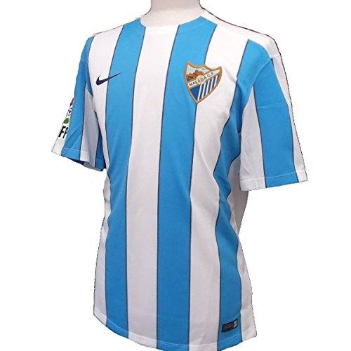 2015-2016 Malaga Home Nike Football Shirt