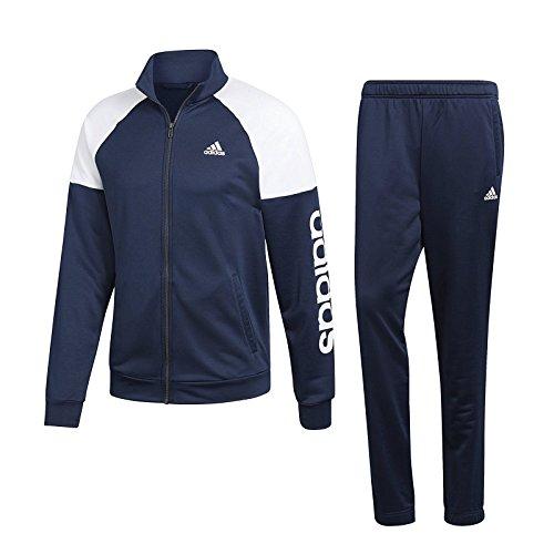 adidas Herren Marker Trainingsanzug Blau