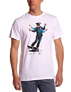 Vans Herren T Shirt When Pigs Ride, white, M, VTAZWHT