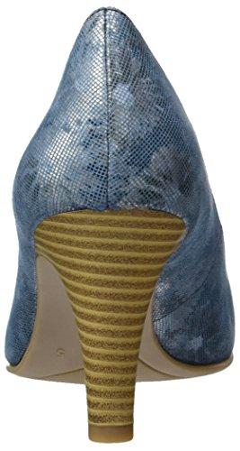 Caprice 22406, Escarpins Femme Bleu (Ocean Comb)