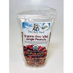 Les aliments crus du monde bio: les cacahuètes de la jungle (453g)
