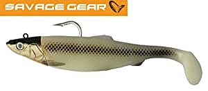 Savage gear 3D herring shad 32 cm big 560 g écran 19 gren glow