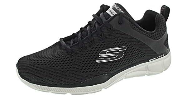 Buy Skechers Men's Equ. 2.0 Charcoal and Black Sneakers 7