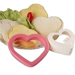 Poche en forme de cœur à Sandwich Creative bricolage Pain Toast Moule et emporte-pièce