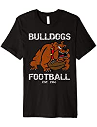 Bulldogs Football Bielefeld Retro Fan Shirt
