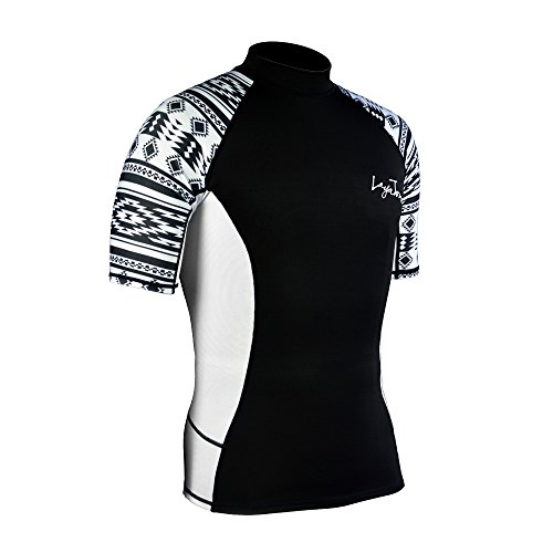 Layatone Rash Guard Herren UV Sun Protection (UPF) 50 Shirts Lycra Wetsuit To (Guard Shirts Rash Herren)