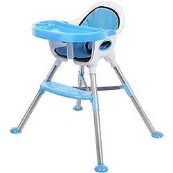 OAKOME Trona bebes y Silla para niños comer 2 en 1 trona bebes con Bandeja para Niño (silla)
