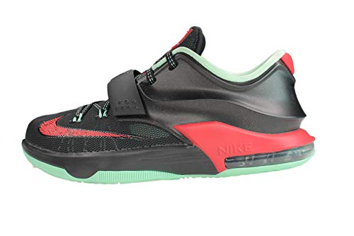 Nike Kd Vii Gs (gute Ã?pfel) Schwarz / Medium Mint-Aktion Red (7)